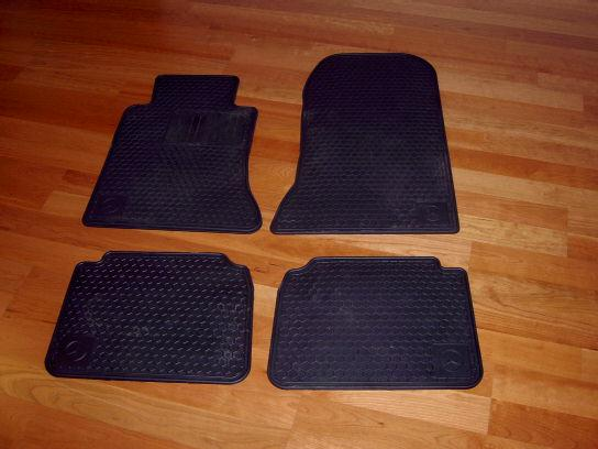 W124 e class snow tires and winter mats for sale for Mercedes benz winter floor mats