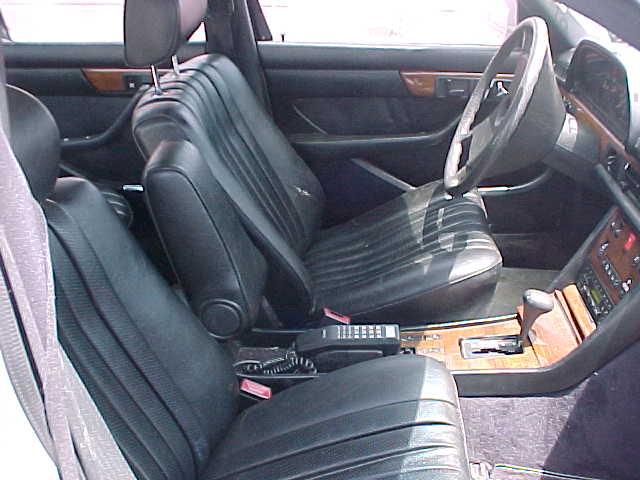 Complete Black Interior 300sd W126 Peachparts Mercedes Shopforum