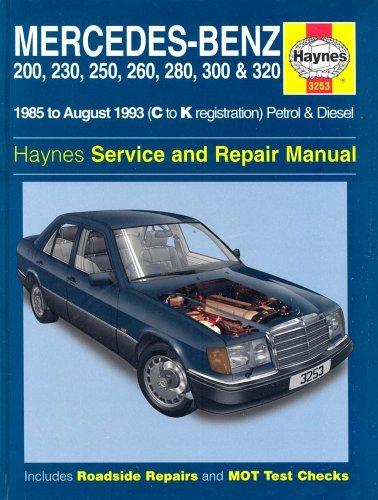 Fs haynes repair manual w124 peachparts mercedes shopforum for Mercedes benz repair forum