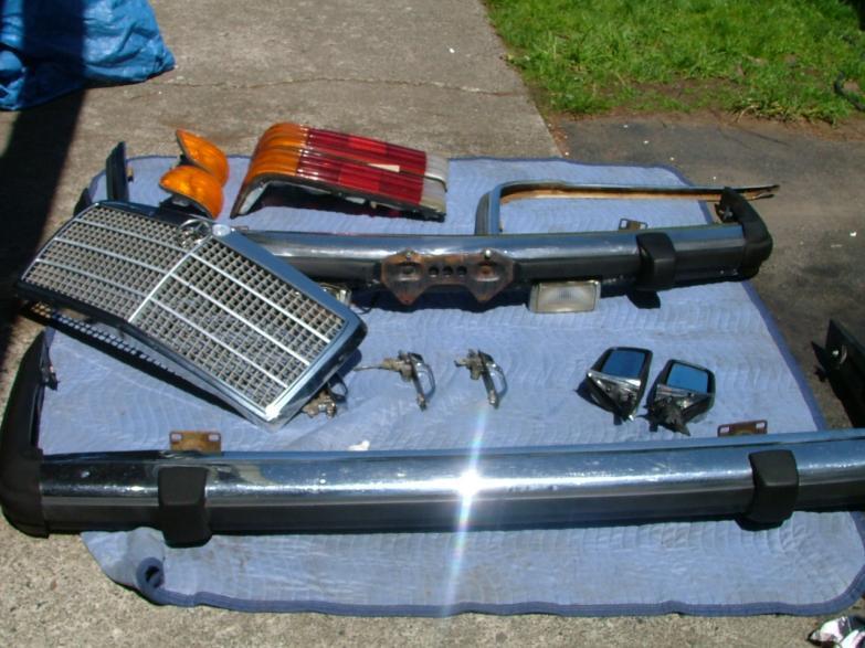 1979 300sd W116 Parts