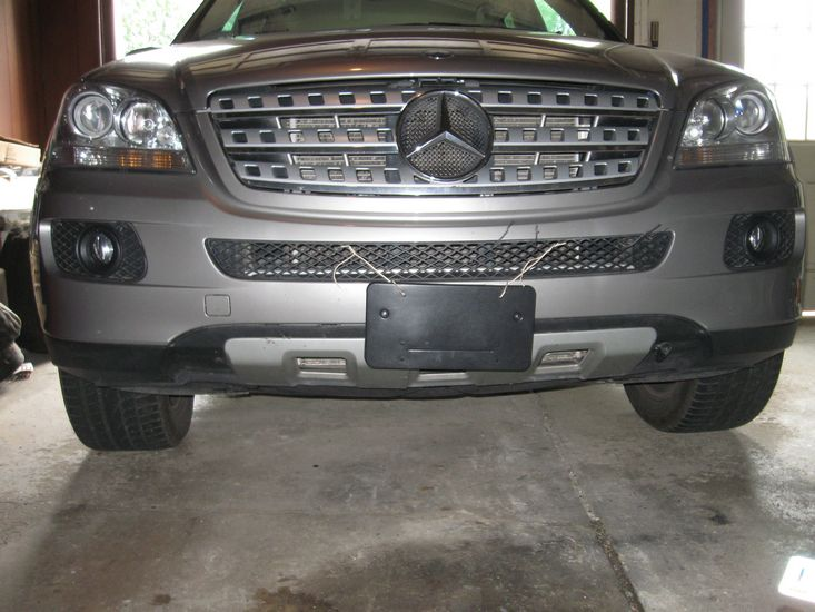 Front license plate frame-tn_img_4160.jpg ... & Front license plate frame - PeachParts Mercedes ShopForum