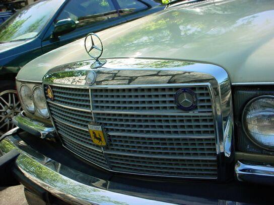 Mercedes benz grille badges