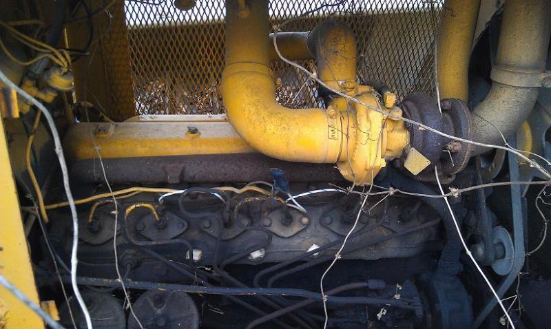 International Td9 Engine