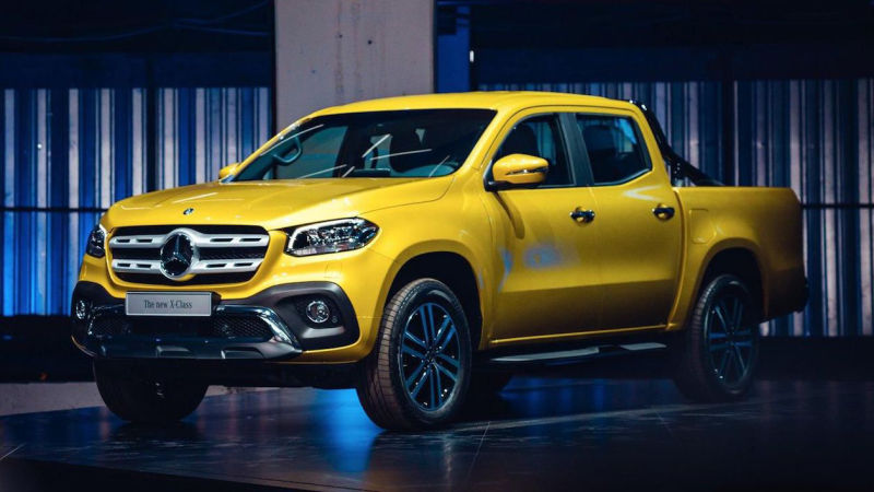 The all new 2018 mercedes benz x class luxury truck for Mercedes benz truck parts
