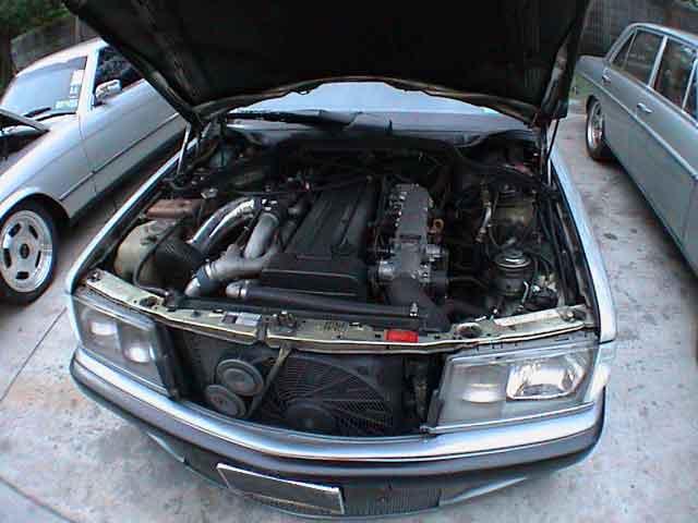 Mercedes Benz W Engine Swap