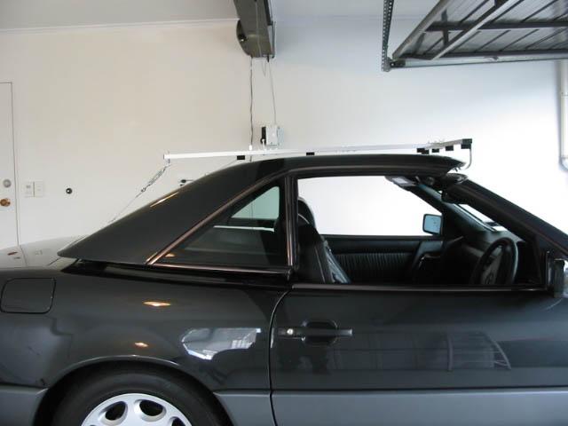 Mercedes sl500 hardtop hoist