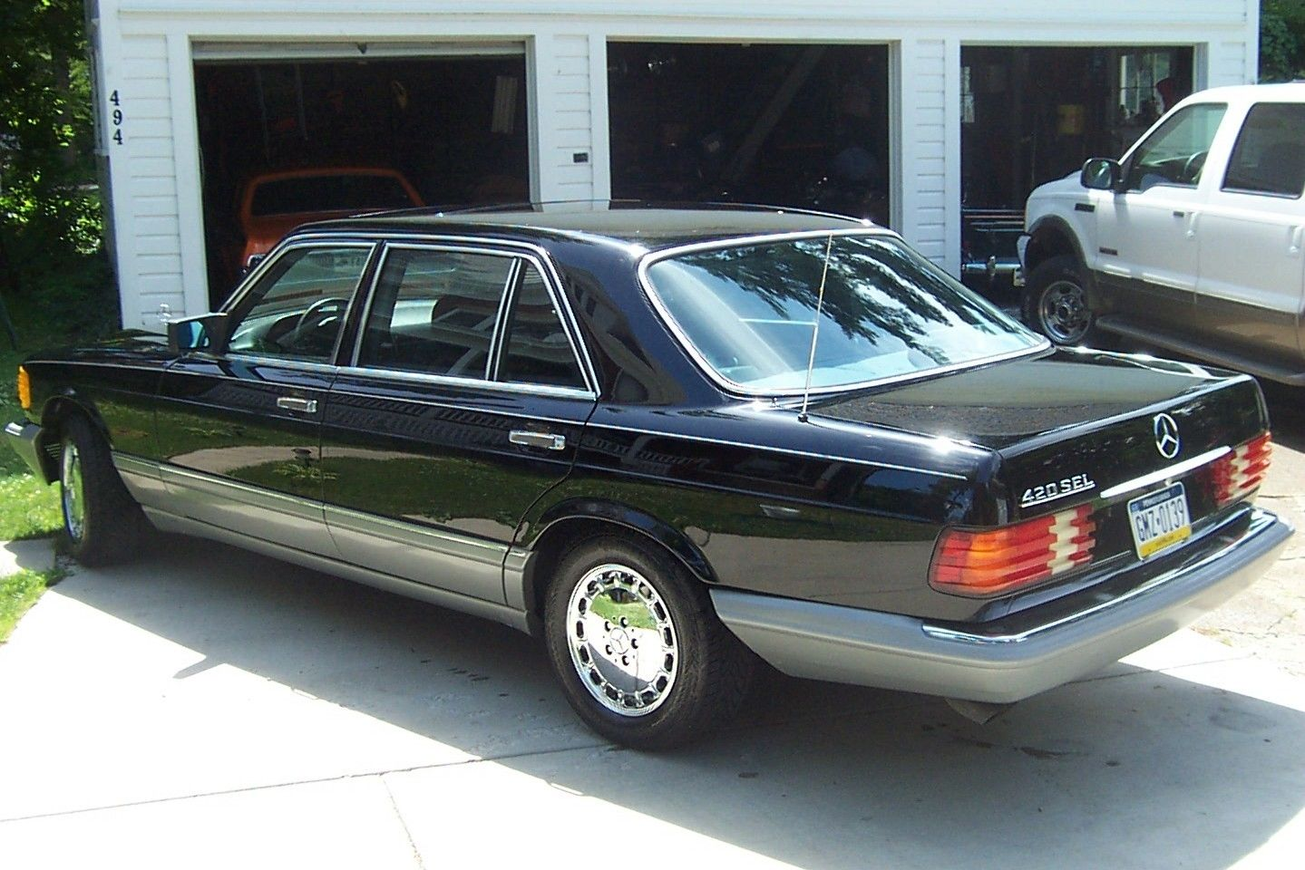 Just bought 39 87 420sel to pair with 39 86 560sl peachparts for 1987 mercedes benz 560sl parts