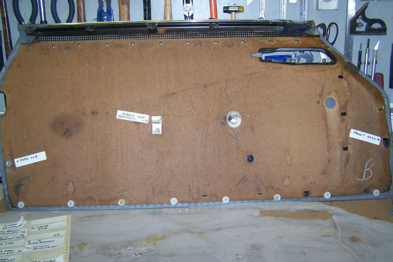 W107 560sl Door Panel Removal And Installation