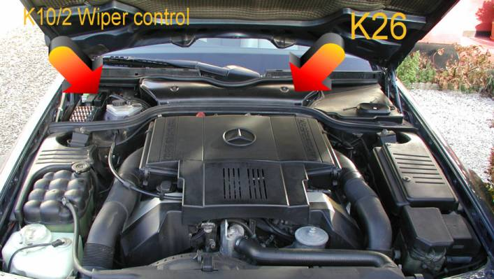 W210 Mercedes Relay Location on 2000 mercedes s500 fuse box location