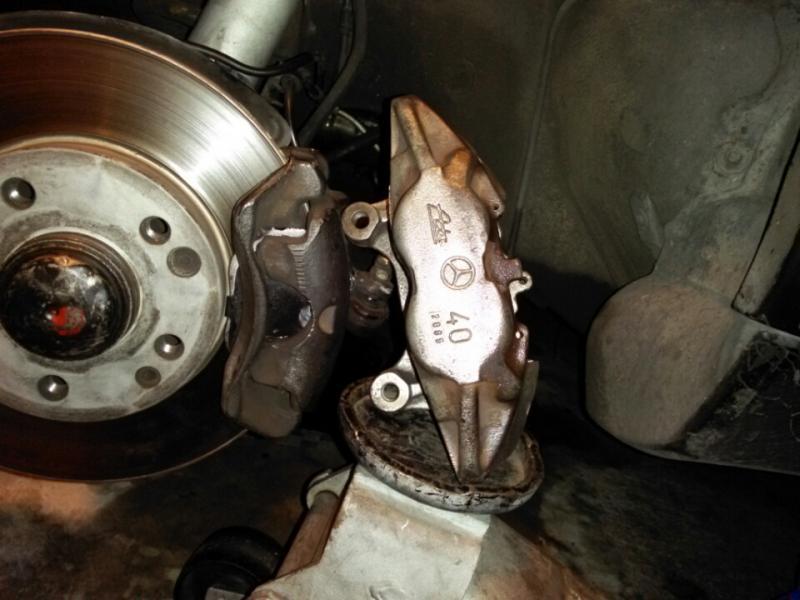 Best Brake Pads >> w201 brake upgrade to 400E brakes - PeachParts Mercedes-Benz Forum
