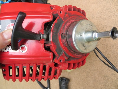 Troy-Bilt TB575EC string trimmer starter cord problems