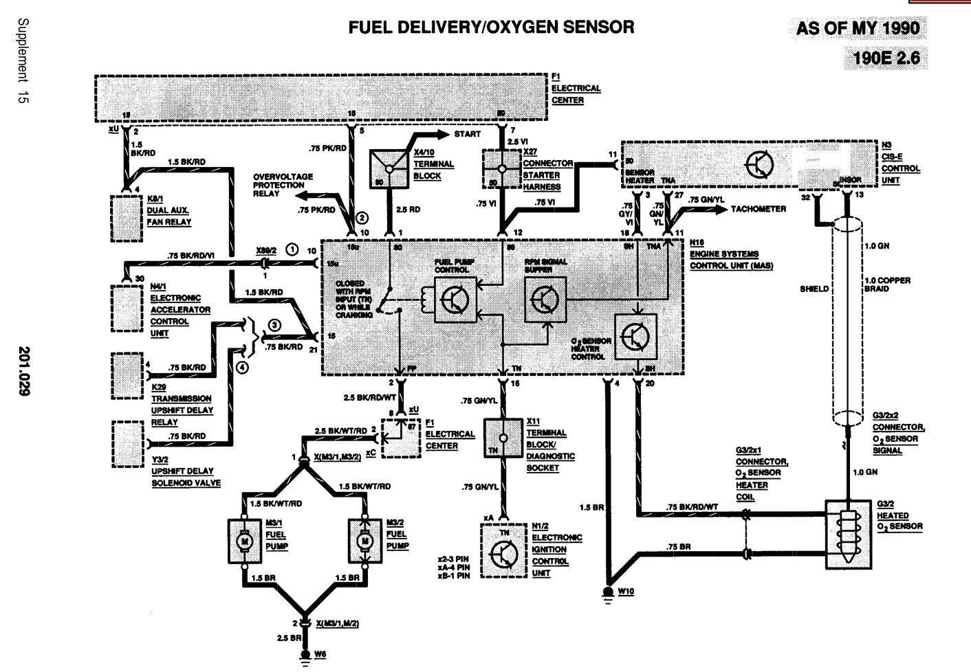 Mas Relay  The O2 Heater Power Source