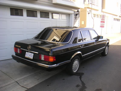 1986 560 sel seattle vancouver peachparts mercedes shopforum for Mercedes benz parts in seattle