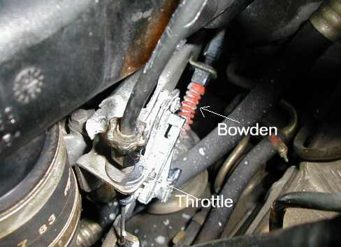 Bowden Cable Adjustment for M104 engine - PeachParts