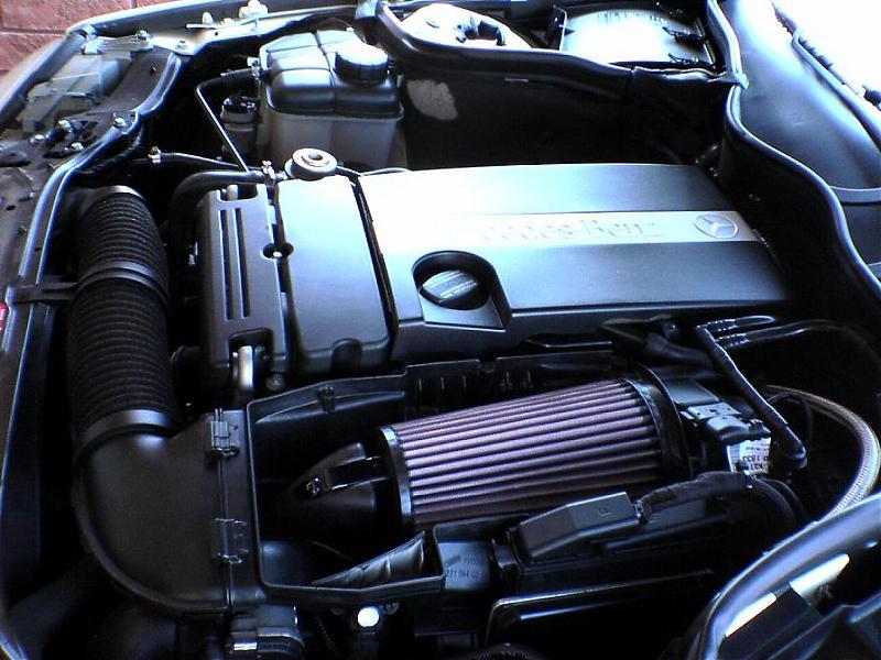 05 mercedes c230 kompressor engine  05  free engine image