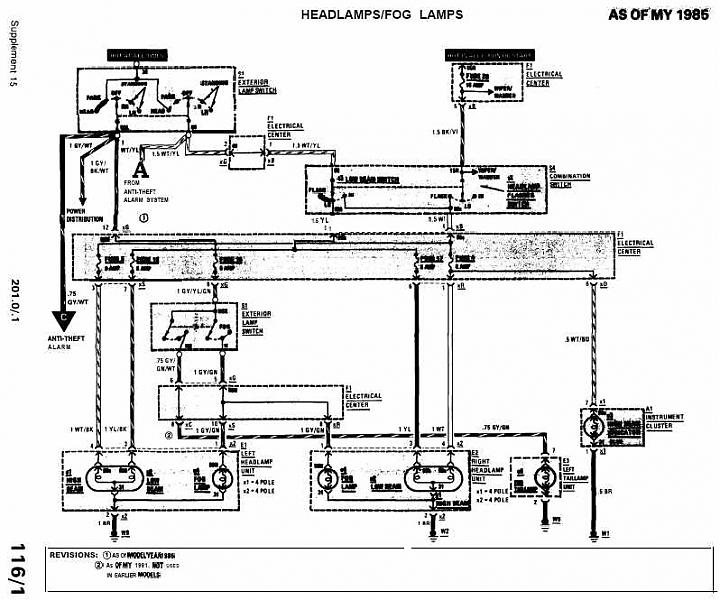 Mercedes Benz 190e Electrical Wiring Diagram Download : Radio wiring diagram for mercedes e