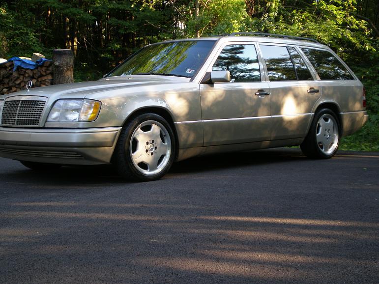 Just Bought a 1995 E320 Wagon PeachParts Mercedes ShopForum