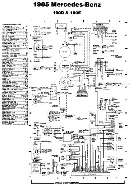 1989 Mercedes 300e Wiring Diagram on 1985 mercedes 300d vacuum system