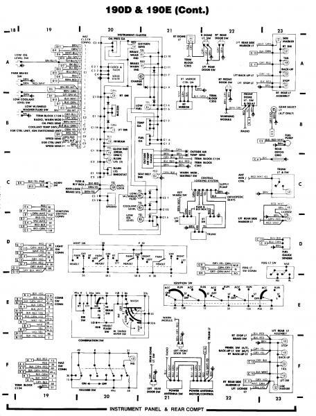 look   190-e schematics