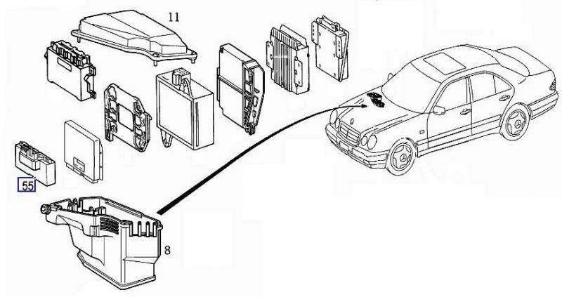 123 mercedes benz vacuum system diagram