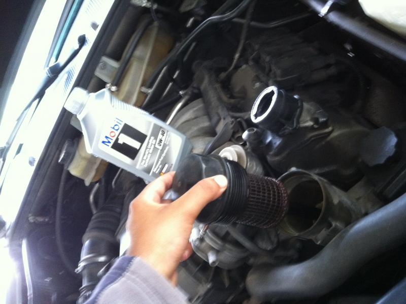 Diy mercedes w163 ml320 ml350 oil change with for How much is a mercedes benz oil change