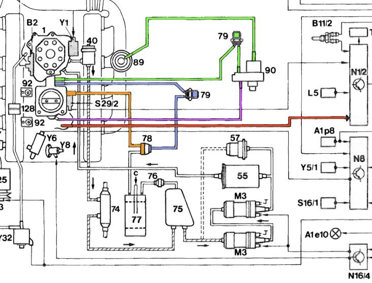 mercedes 560sel fuel line diagram mercedes free engine image for user manual