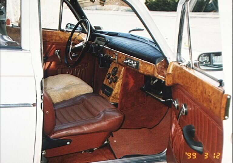 DIY - wood trim dash restoration - PeachParts Mercedes-Benz