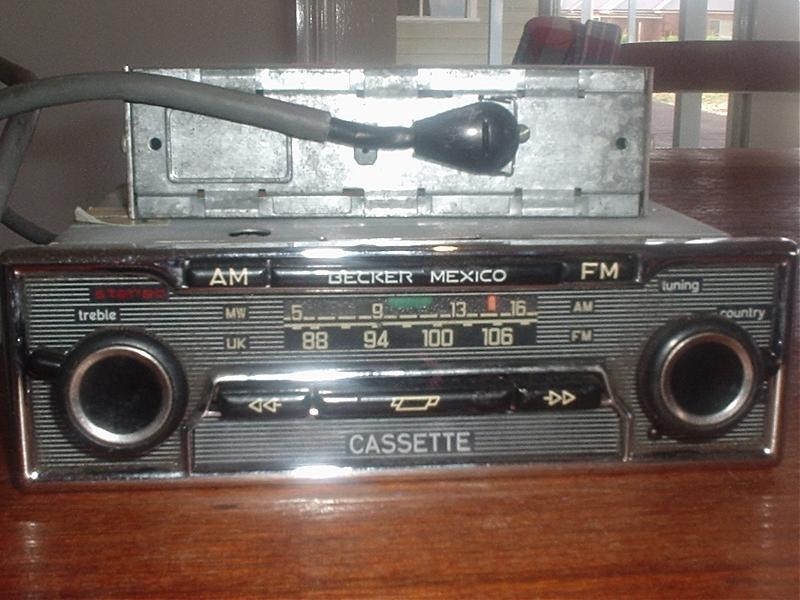 becker mexico radio installation 1967 w108 peachparts mercedes shopforum