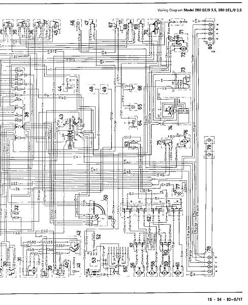 Mercedes Wiring Diagram: would like help with ignition wiring diagram for 280SE 3.5 108.057 ,Design