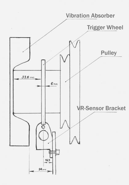 electronic distributorless ignition system diagram