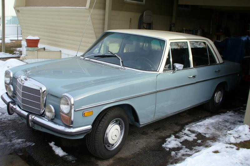 Newly refurbished 1972 220d somewhat detailed for 1969 mercedes benz parts