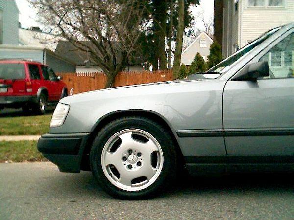Photo W124 With W210 E430 Rims Peachparts Mercedes