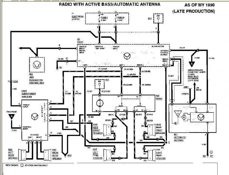 Wiring Diagram Mercedes Audio 20 : Stereo help needed e peachparts mercedes benz