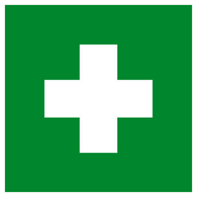 Preferred First Aid Kit Medical Cross sticker/decal - PeachParts Mercedes  OE38