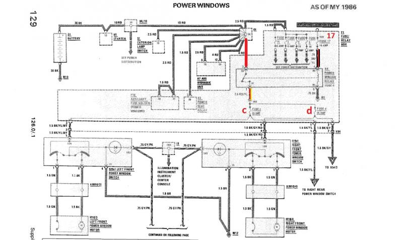 Mercedes Benz 1986 190E Wiring Diagram from www.peachparts.com