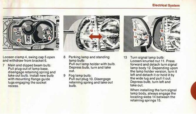 Headlight Adjustment - Alignment Threads