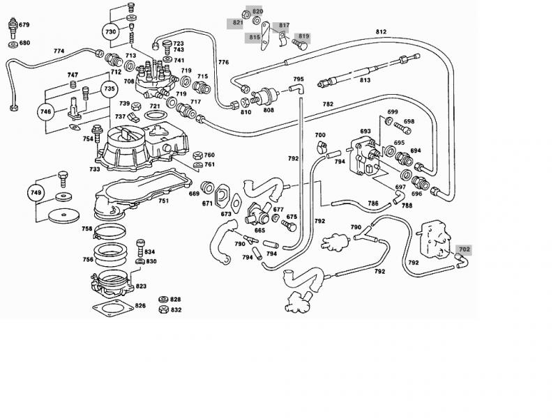 mercedes 300d engine diagram fuel injection pontiac