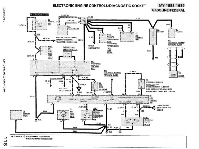 Window Wiring Diagram 1993 300ce on wiring diagram for mercedes benz w124